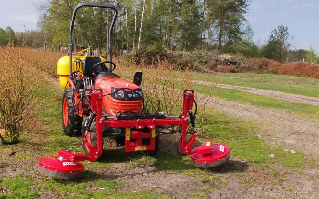 Weed Spray Boom For Blueberries TOLA