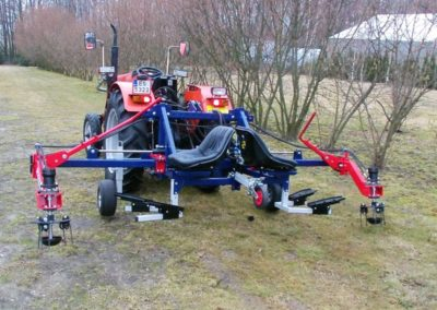 Side Hydraulic Weeder ZOFIA